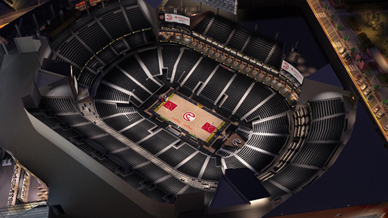Atlanta Hawks Virtual Venue By Iomedia